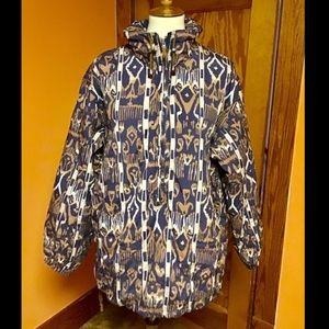 Vintage 80s sun n ice funky retro puffer jacket